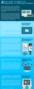 Infographic: 4 Vital Signs it's Time to Update the Technology Within Your Business!