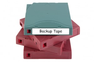 Why Backing up Your Data to Tape Is not a Great Idea